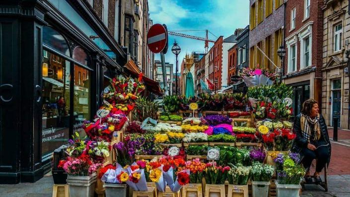 mercado de flores en dublin