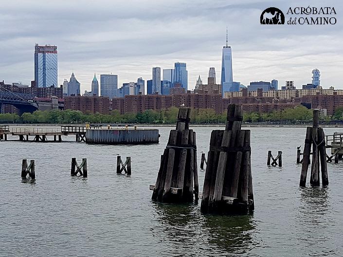 vista de manhattan desde brooklyn