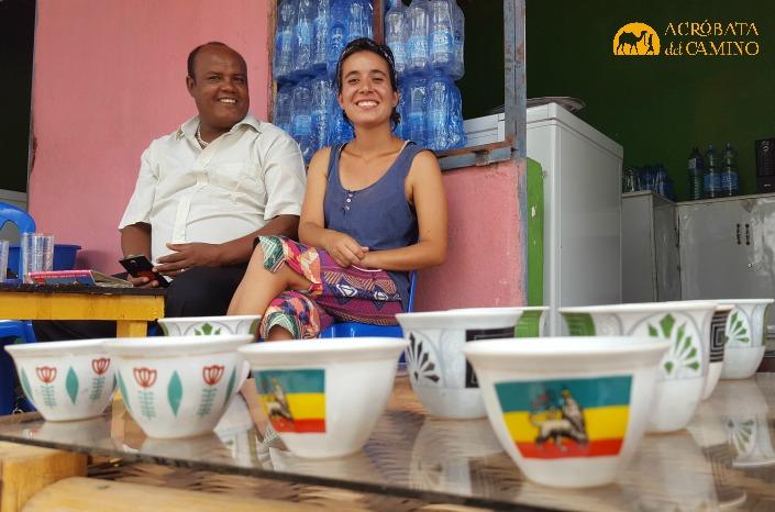 tomar café en Etiopía