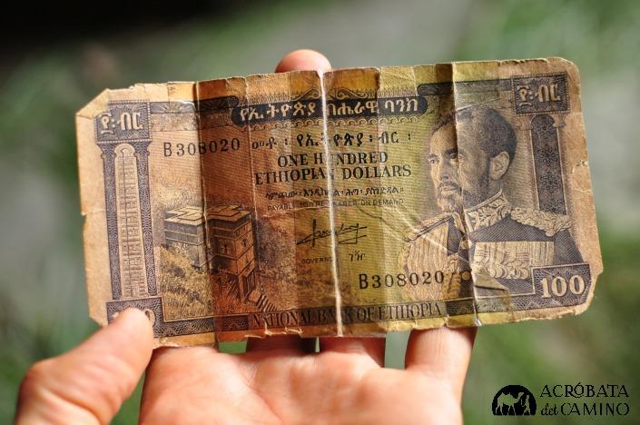 billetes de etiopia