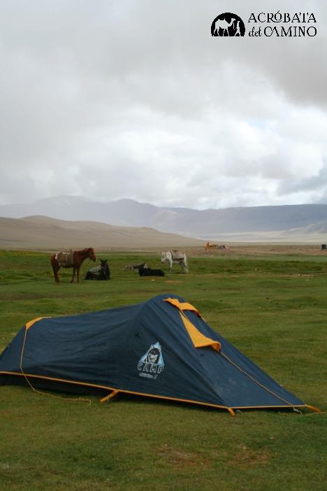 camping en alta montaña