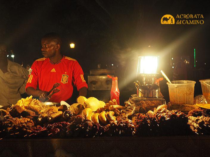 mercado nocturno de zanzibar