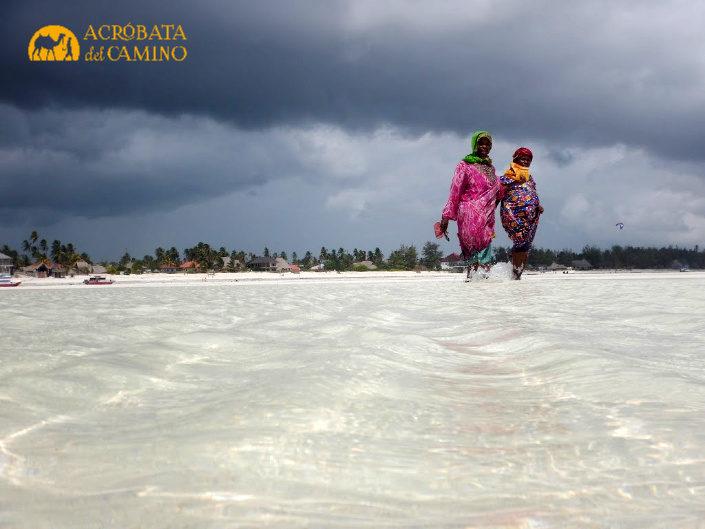 playas de paje en temporada de lluvias