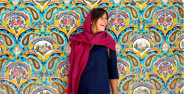 viajar sola a iran mujeres