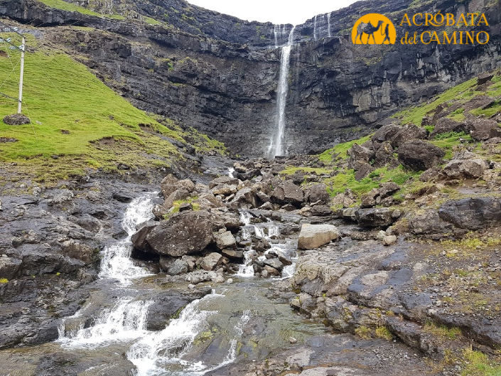 cascada de Fossa islas feroe