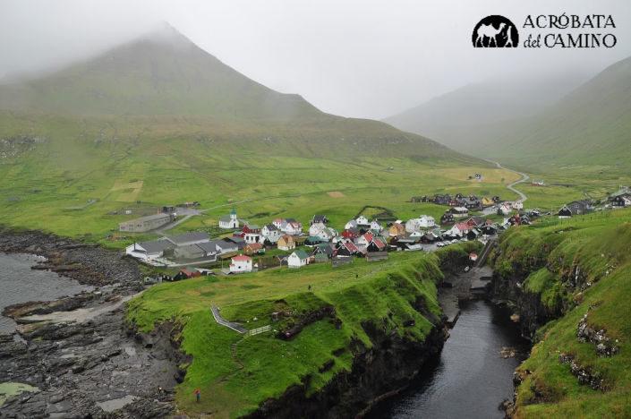Gjogv uno de los pueblos que ver en las Islas Feroe