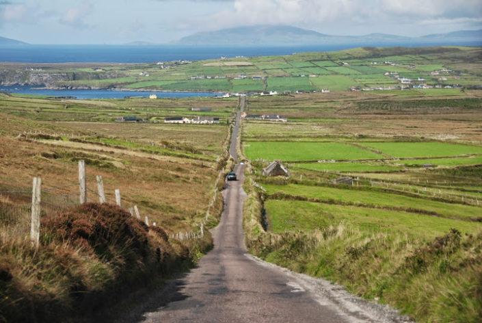 ruta por anillo de Skellig en Irlanda