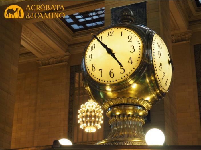 reloj de la grand central terminal