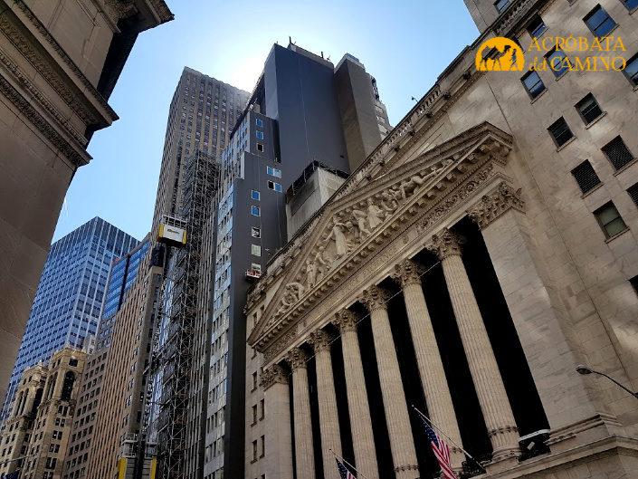 Bolsa de Nueva York un imperdible de manhattan