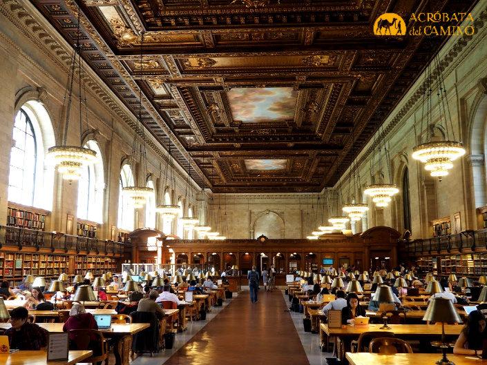 sala de lectura biblioteca publlica de nueva york