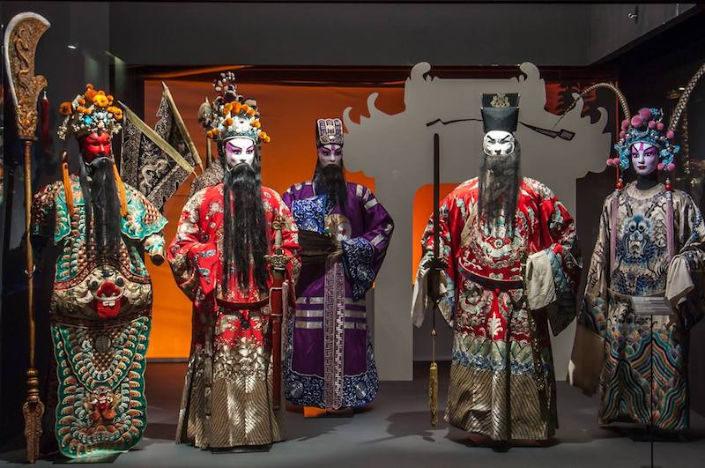 máscaras chinas en museo de oriente de lisboa