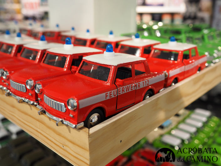 autos trabant de juguete