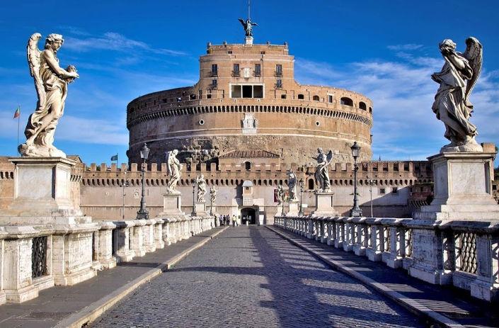imperdibles de Roma castillo sant angelo