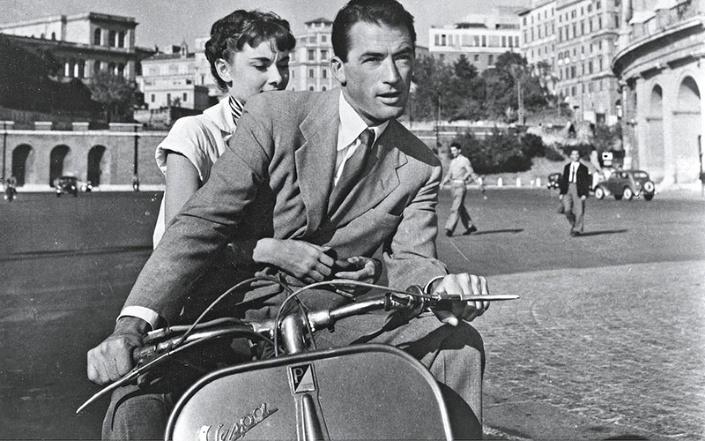 pelicula vacaciones en roma