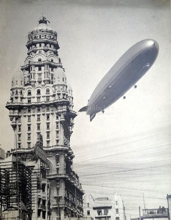 palacio barolo y graf zeppelin