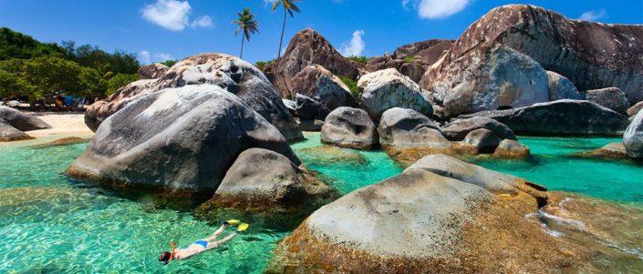 snorkel en virgin gorda mejores playas del caribe