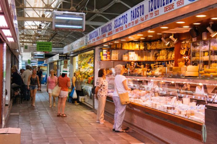 quesos en mercado santa catalina