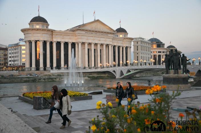 viajar de mochilero a Macedonia