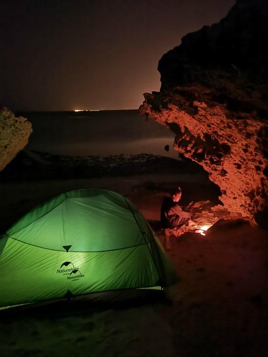 camping en las islas Farasan