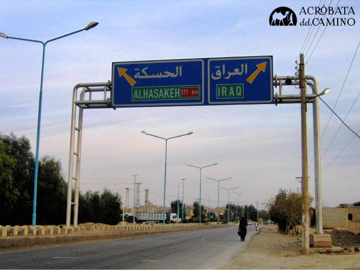 frontera entre siria e irak