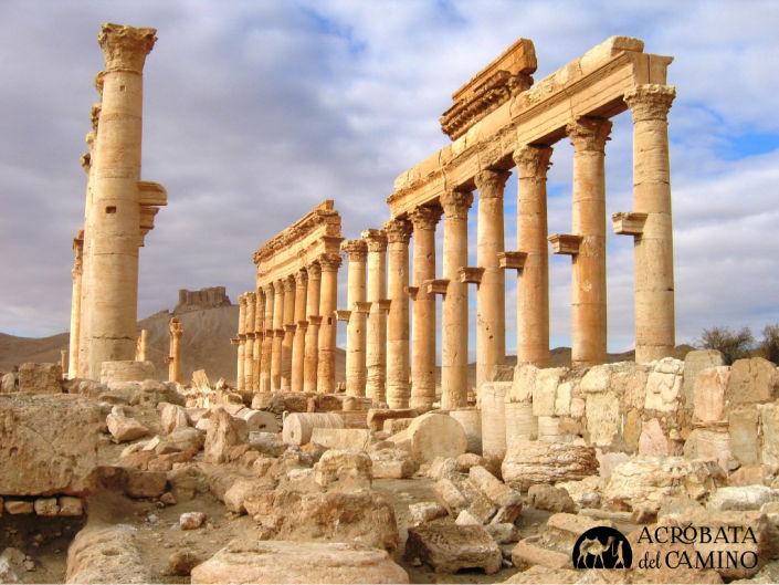 ruinas de Palmira en Siria