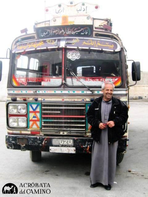 transporte público en siria
