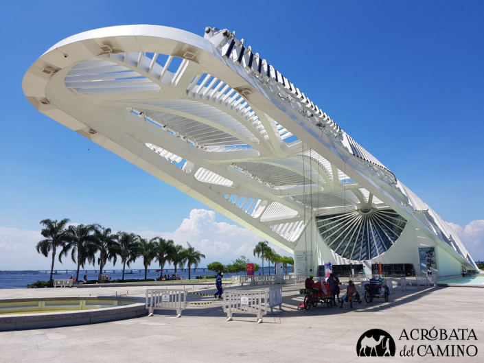 arquitectura futurista en rio museo
