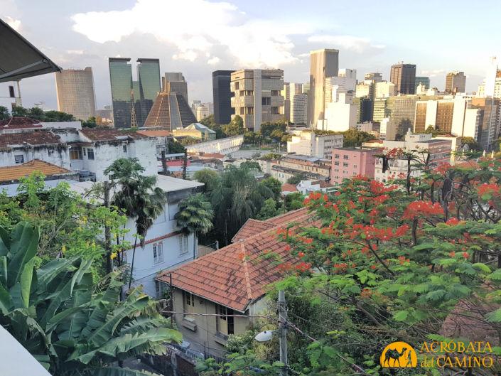Vista de Rio de Janeiro desde Santa Teresa