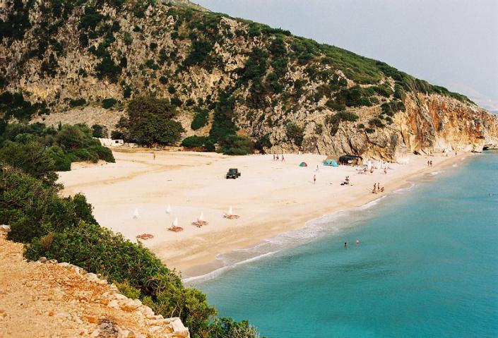 mejor playa de albania