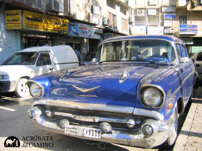 autos americanos vintage siria