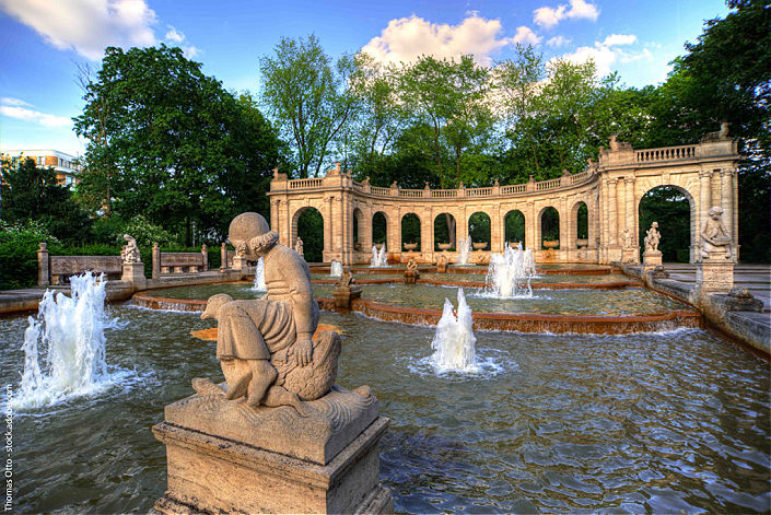 fuente del volkspark friedrichshain