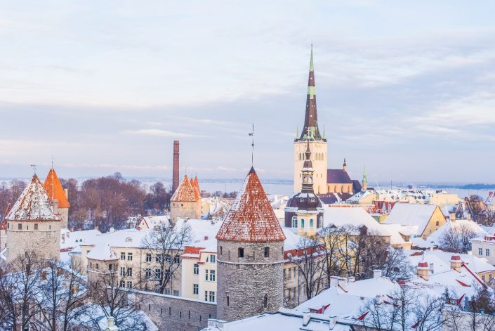 Pueblo medieval Tallin