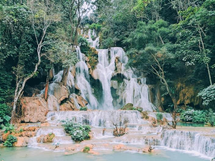 cascadas de kuang si