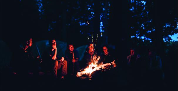 vacaciones en camping familia