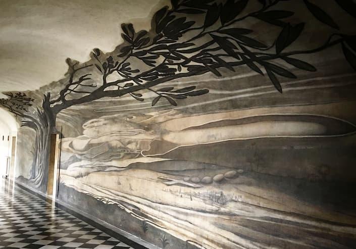 ilusiones ópticas en Trinia dei Monti